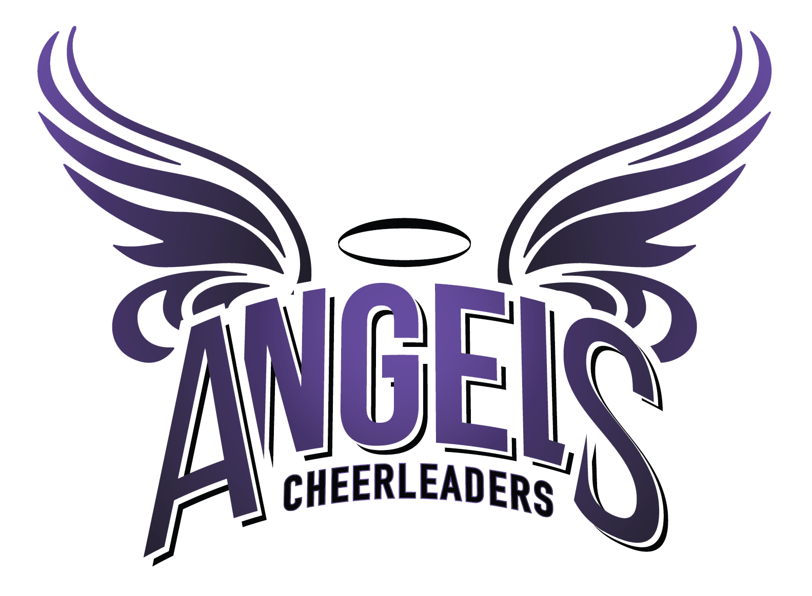 Lausanne Angels Cheerleaders Mobile Logo